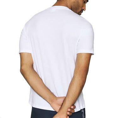 Sergio Tacchini Botero Tee Shirt Mens Navy/White STMF2038882 100