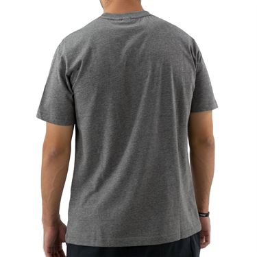 Sergio Tacchini Robin Tee Shirt Mens Dark Grey/White/Black STMF2038917 926