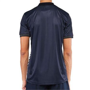 Sergio Tacchini Melbourne Polo Shirt Mens Night Sky/Blanc De Blanc STMS2138922 205
