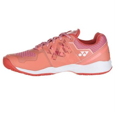 Yonex Power Cushion Sonicage Womens Tennis Shoe - Coral Pink