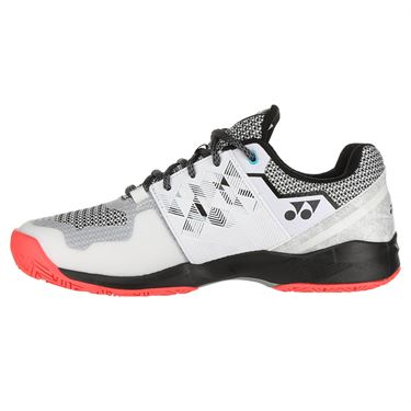 Yonex Power Cushion Sonicage Wide Mens Tennis Shoe - White/Black