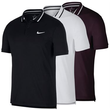 huge discount 54fa1 bf446 Nike Court Dry Pique Polo