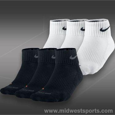 Nike Dri Fit Cushion Quarter 3 Pack Socks
