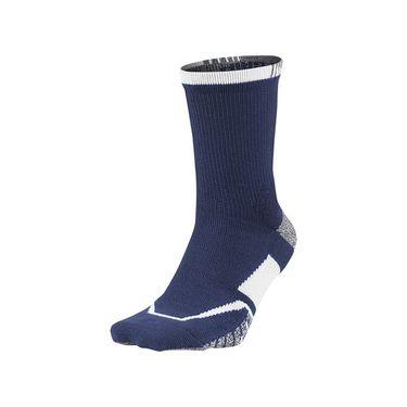 Nike Grip Elite Crew Tennis Sock - Binary Blue