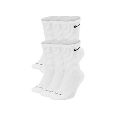 Nike Everyday Plus Training Cushion Crew Mens Sock - White/Black