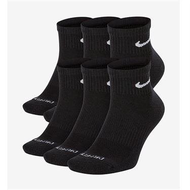 Nike Everyday Plus Cotton Cushioned Ankle Sock Black SX6899 010