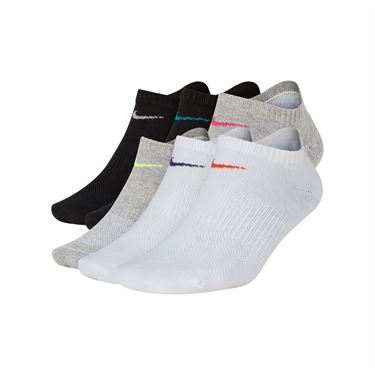 Nike Everyday Lightweight Training No Show Womens Sock - Multi