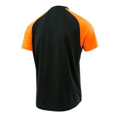 Ellesse Nostrano Polo - Black/Neon Orange