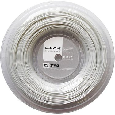 Luxilon Savage White 127 REEL (660ft)