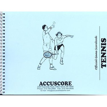Accuscore Tennis Score Book CTSBK