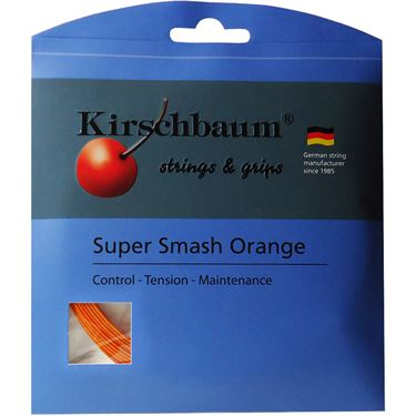 Kirschbaum Super Smash Orange 16L (1.28mm) Tennis String