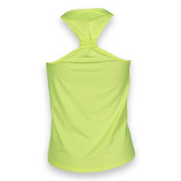Lucky in Love Girls Core Tank-  Neon Yellow
