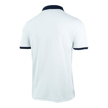 Lotto Dragon Tech II Polo - White/Blue College