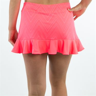 Lotto Nixia IV Skirt - Fluo Pink