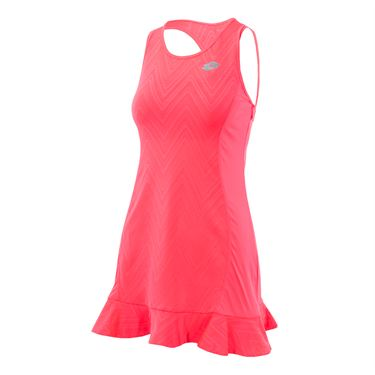 Lotto Nixia IV Dress - Fluo Pink