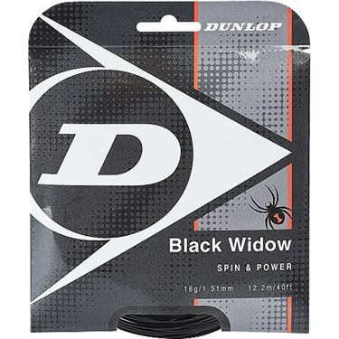Dunlop Black Widow 16G Tennis String