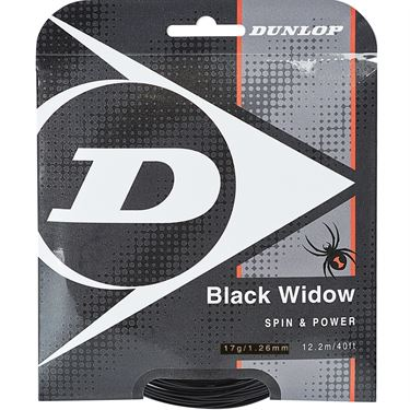 Dunlop Black Widow 17G Tennis String