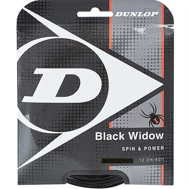 Dunlop Black Widow 18G Tennis String