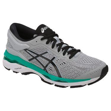 Asics Gel Kayano 24 Womens Running Shoe - Grey/Black/Atlantis
