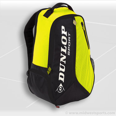Dunlop Biomimetic Tour Yellow BackPack Tennis Bag