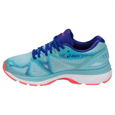 Asics Gel Nimbus 20 Womens Running Shoe - Porcelain Blue/White/Asics Blue