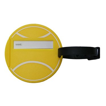 Tennis Ball Luggage Tag T932