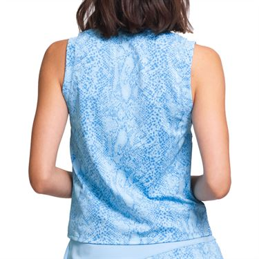 Eleven In The Curves Peace Maker Tank Womens Cloud Blue Snake TA129 982