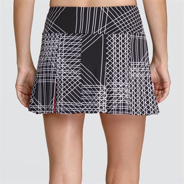 Tail Vibrant Glam Pleated Skirt - Flow Print
