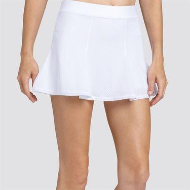Tail Boa Blue Flounce Skirt - Chalk