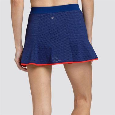 Tail Boa Blue Flounce Skirt - Blue Depths