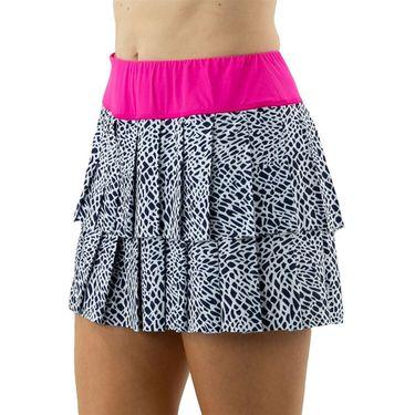 Jofit Rojito Layered Pleat Skirt Womens Crocodile Print TB0011 CRO