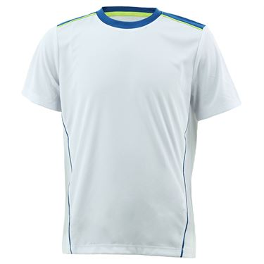 Fila Boys Piped Crew White/Blue TB181C86 100
