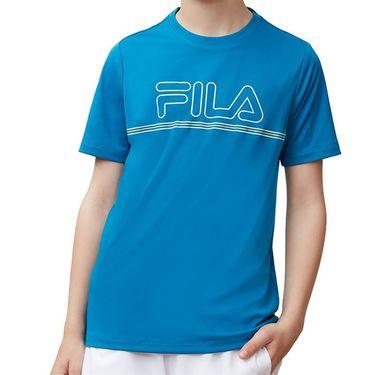 Fila Boys Serve Volley Crew Blue TB181C88 448