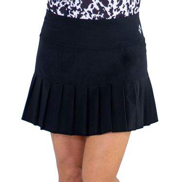 Jofit Core Knife Pleat Skirt Womens Black TB240 BLK