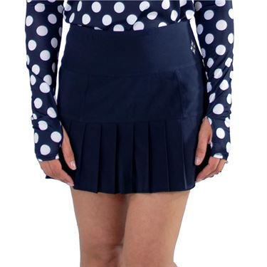 Jofit Core Knife Pleat Skirt Womens Midnight TB240 MDN