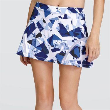 Tail Blue Depths Flounce Skirt - Crystal Marble