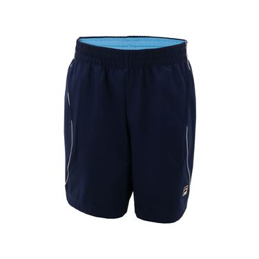 Fila Western & Southern Open Boys Ball Crew Shorts - Bonnie Blue/Navy/White
