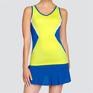 Tail Lemon Tonic V Neck Tank - Lemon Tonic