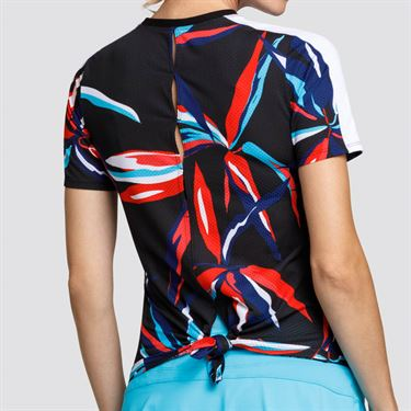 Tail HiLow Hem Short Sleeve Top - Palm Springs