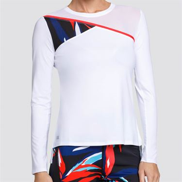 Tail Palm Springs Long Sleeve Top - Chalk