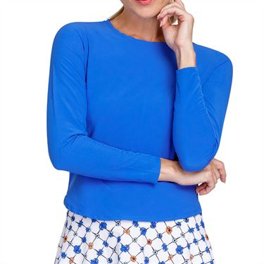 Tail Poppy Love Hadleigh Long Sleeve Top Womens Azurite TC2744 1319