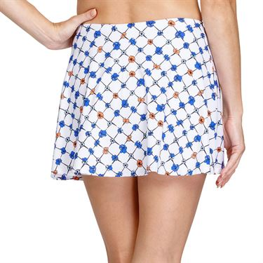Tail Poppy Love Skyline Full Flounce 13 1/2 inch Skirt Womens Trellis TC6328 H979