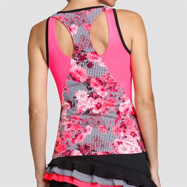 Tail Hamptons Racerback Tank - Honeysuckle