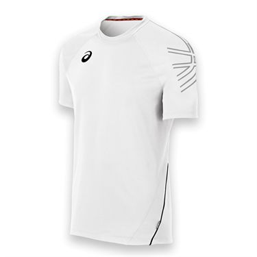 Asics Mens Team Performance Crew-White