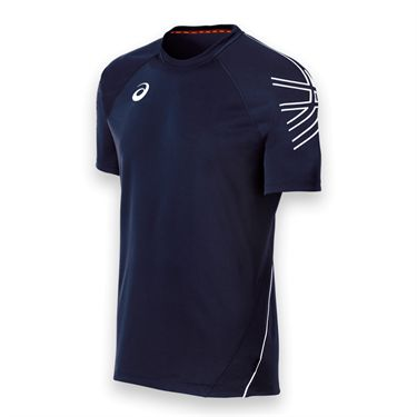 Asics Mens Team Performance Crew-Navy