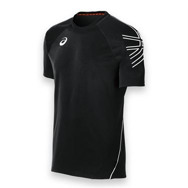 Asics Mens Team Performance Crew-Black