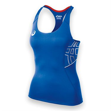 Asics Womens Team Performance Tank-Royal