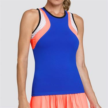 Tail Sunrise Hues Racerback Tank Womens Space Blue TE2503 1787