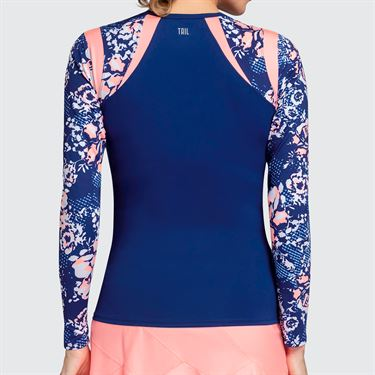 Tail Melon Punch Long Sleeve Top - Blue Depths