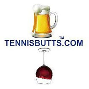 Tennis Butt Decal - Beer or Wine